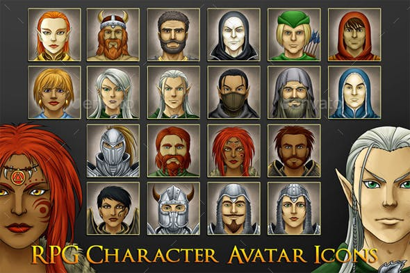 RPG Game Avatars