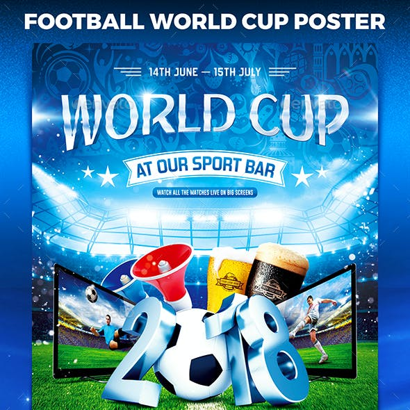 Football World Cup Poster vol.1
