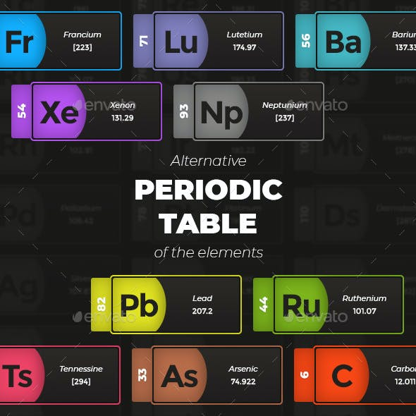 Alternative Periodic Table of the Elements
