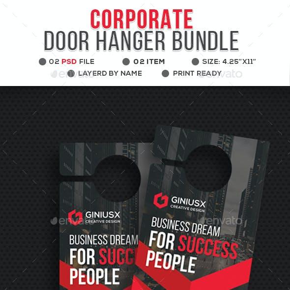 Corporate Door Hanger Bundle