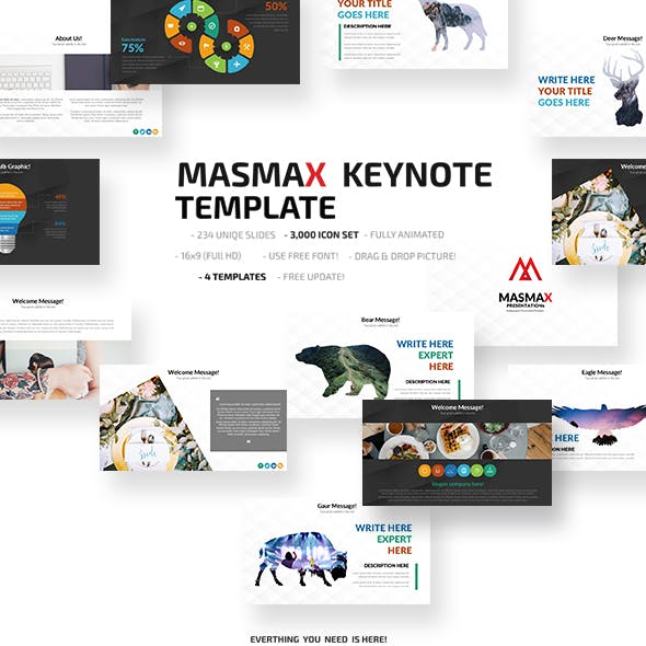 Masmax Keynote Template