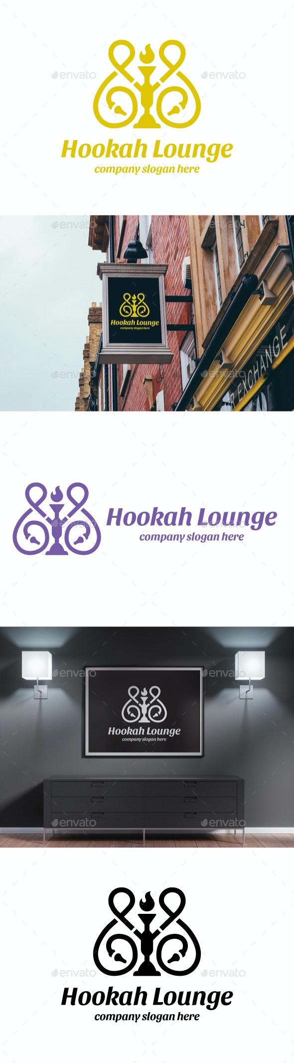 Hookah Lounge - Objects Logo Templates