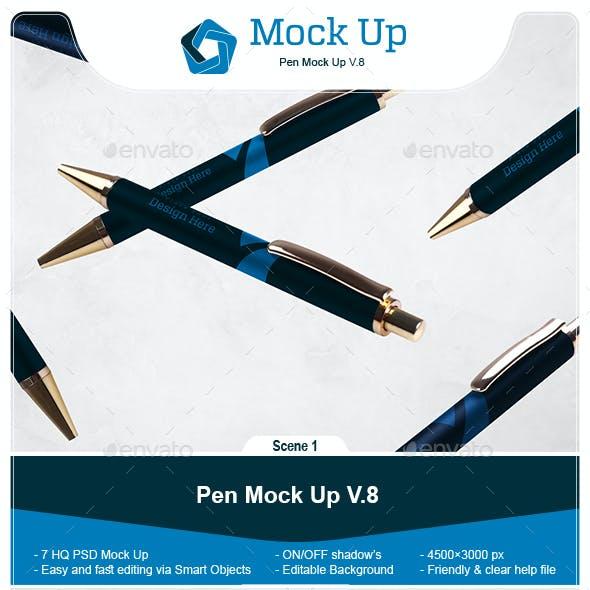 Pen Mock Up V.8