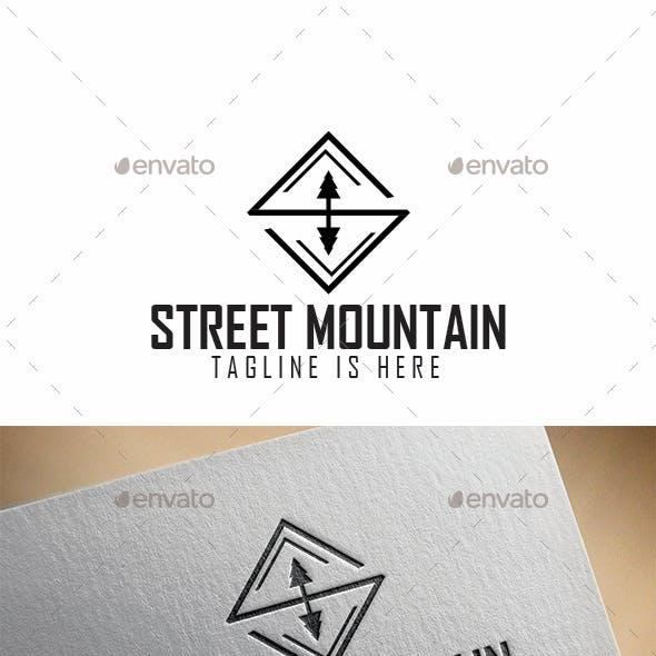 Mountain Street Logo Templates
