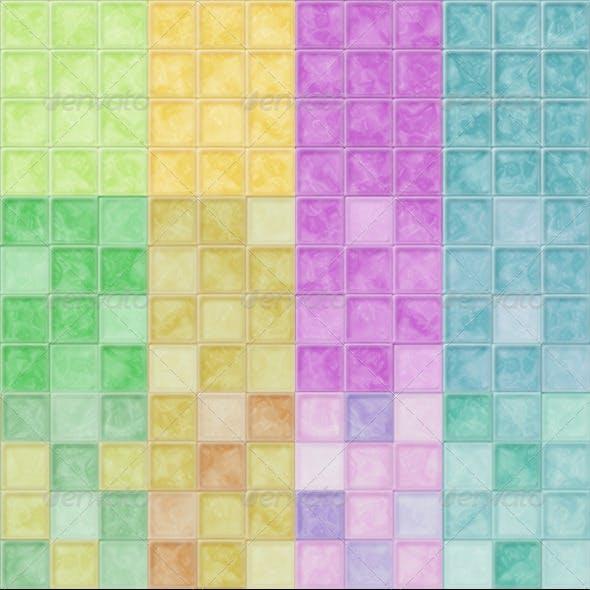 Glass Mosaic Tile Textures