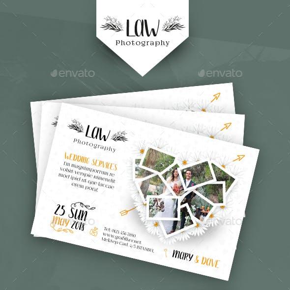 Wedding Postcard Templates