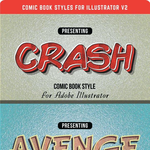 Comic Book Styles Graphics, Designs & Templates