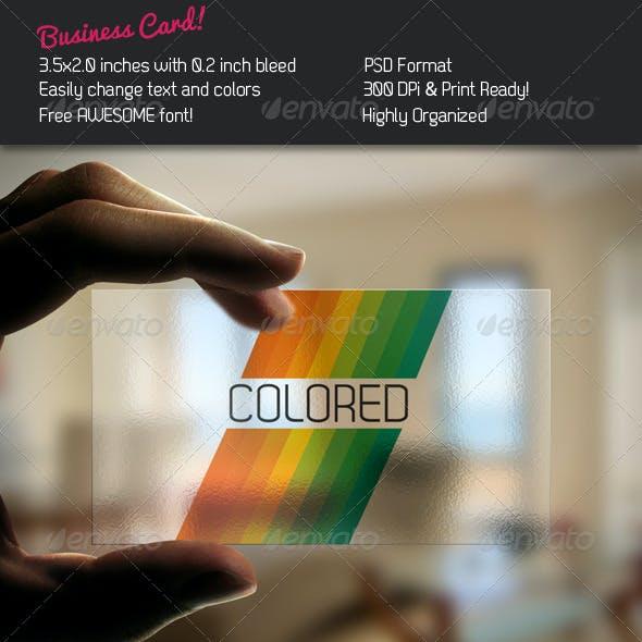 Stripe Business Card