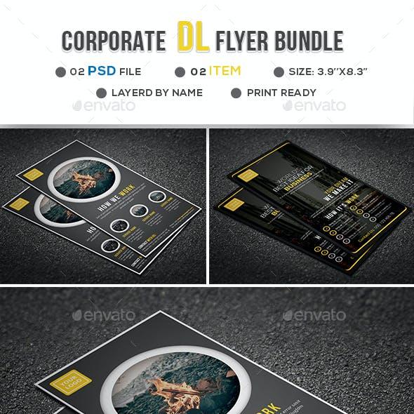 Corporate DL Flyer Bundle
