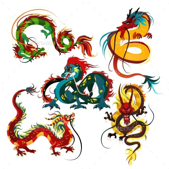 Traditional Chinese Dragons