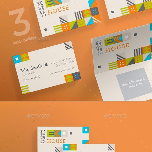 Eco House Business Card