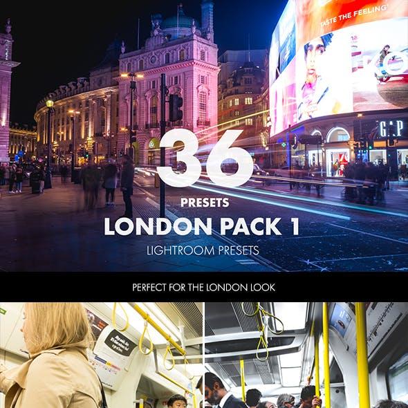London Pack - 36 Lightroom Presets
