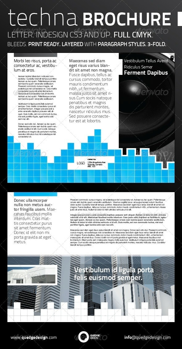 Techna 3-Fold Brochure - Corporate Brochures