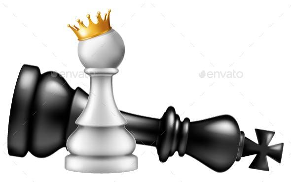 Pawn Takes King