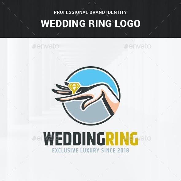 Wedding Ring Logo Template