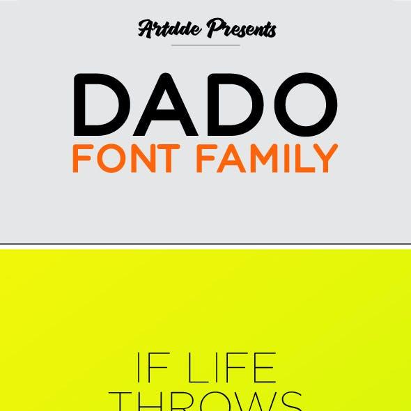 Dado Font Family