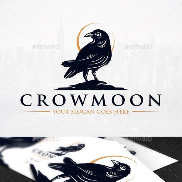 Night Crow Logo Template