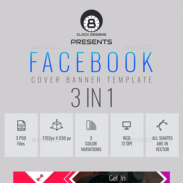 Facebook Time Line Cover For Gym & Fitness
