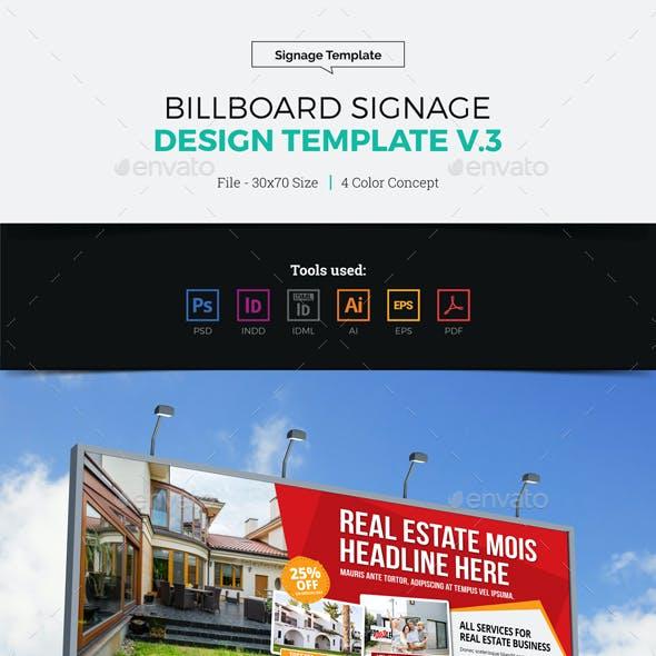 Billboard Signage Design v3