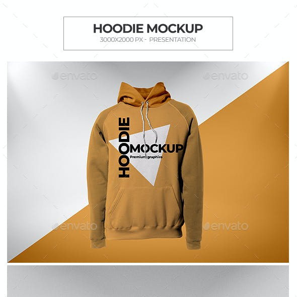 Hoodie Mock-up