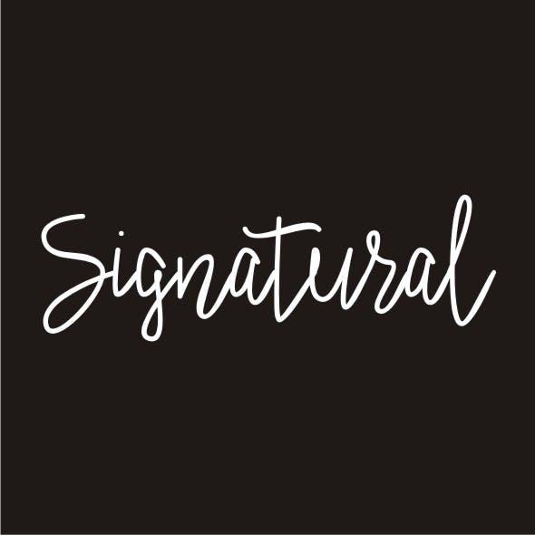 Signatural Typeface