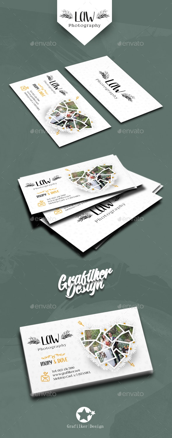 Wedding Business Card Templates - Corporate Business Cards