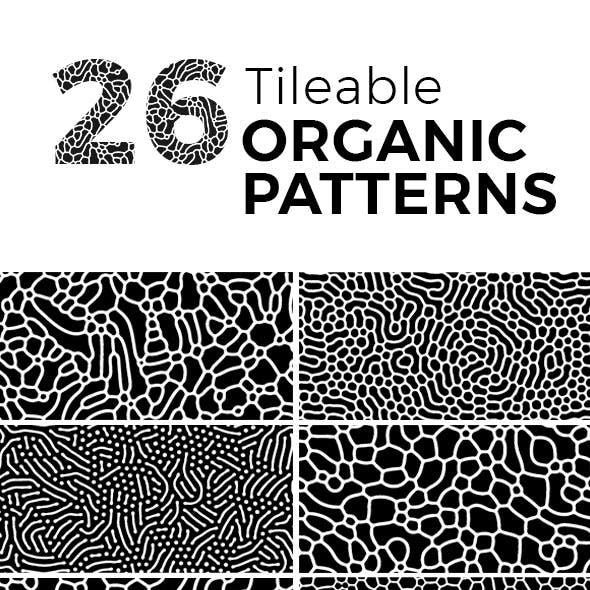26 Tileable Organic Patterns