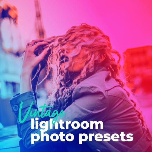 18 Modern Vintage Portrait Lightroom Presets