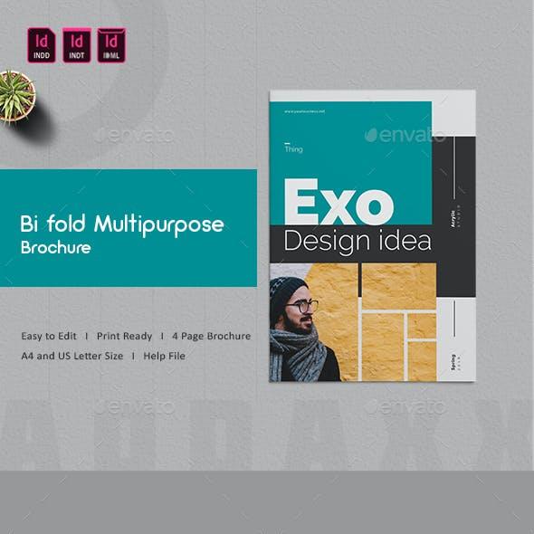 Bi fold Multipurpose Brochure