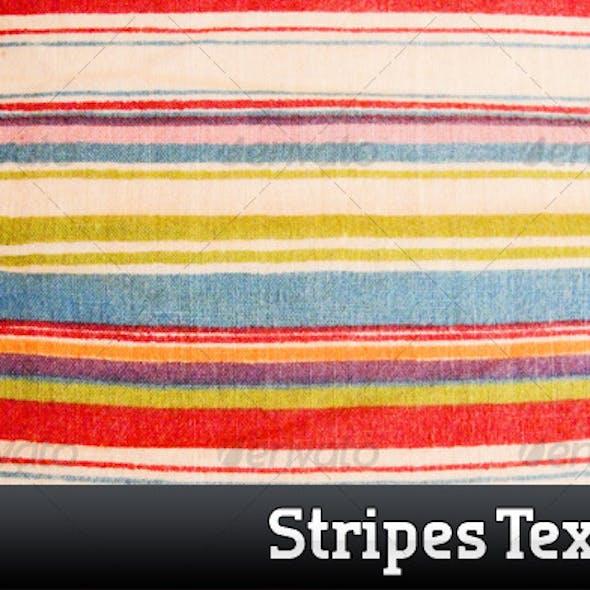 Color Striped Cloth Texture