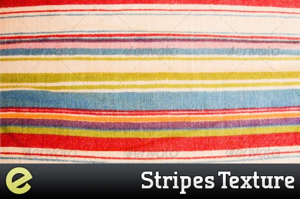 Color Striped Cloth Texture - Fabric Textures