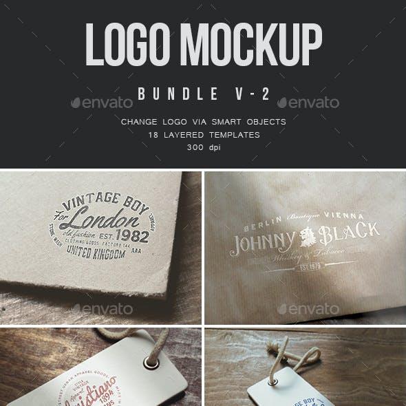 Logo Mockup Bundle - V.2