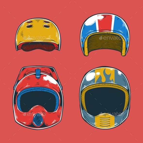 Extreme Sports Helmets