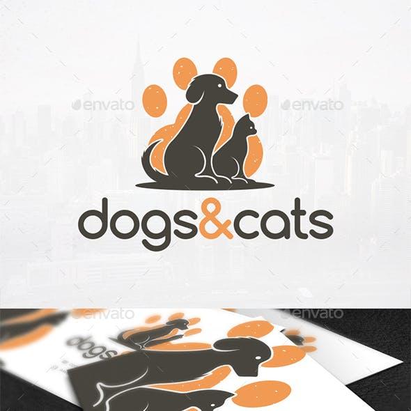 Dog & Cat Logo Design