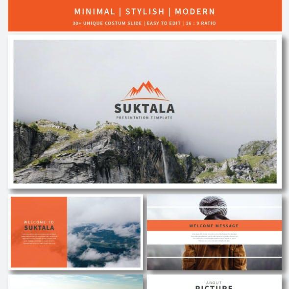 Suktala Keynote Template