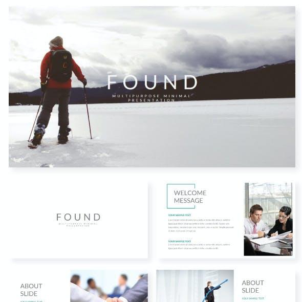FOUND Presentation Template