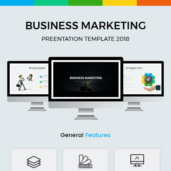 Business Marketing  Google Slides Template 2018