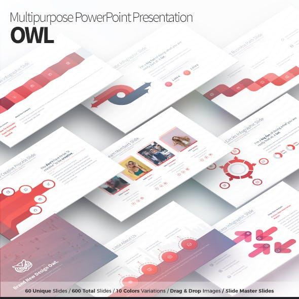 Owl - Multipurpose PowerPoint Presentation