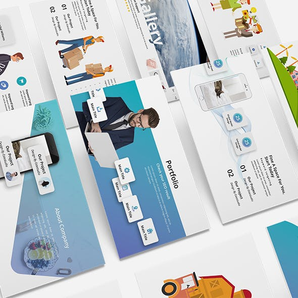 Project 2018 - Business Powerpoint Template