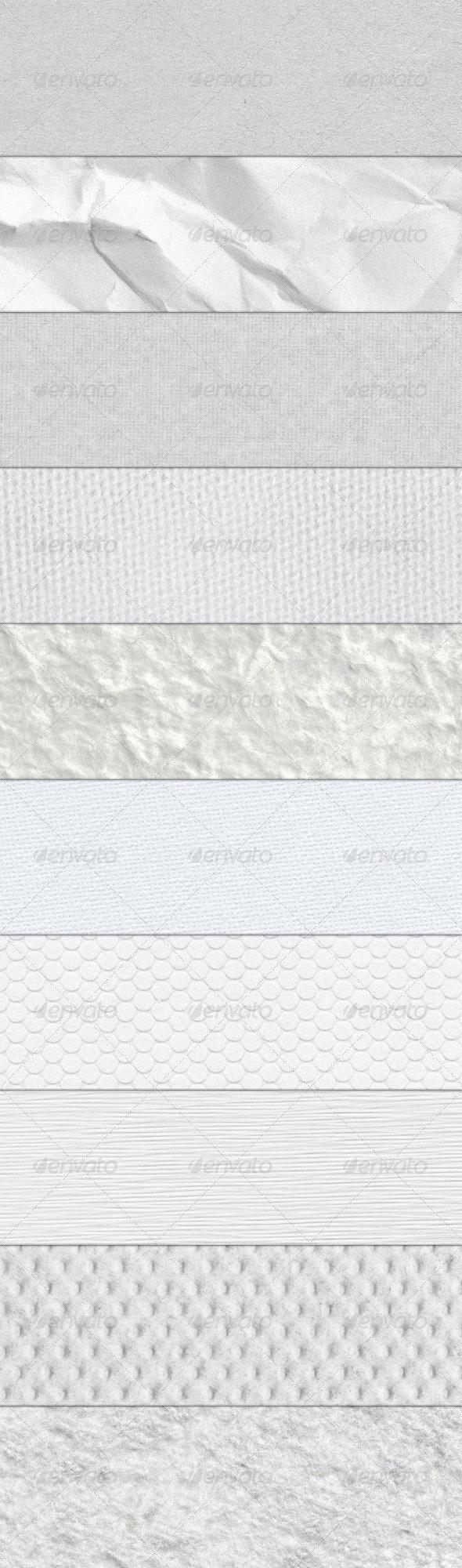 10 Paper Textures - Paper Textures