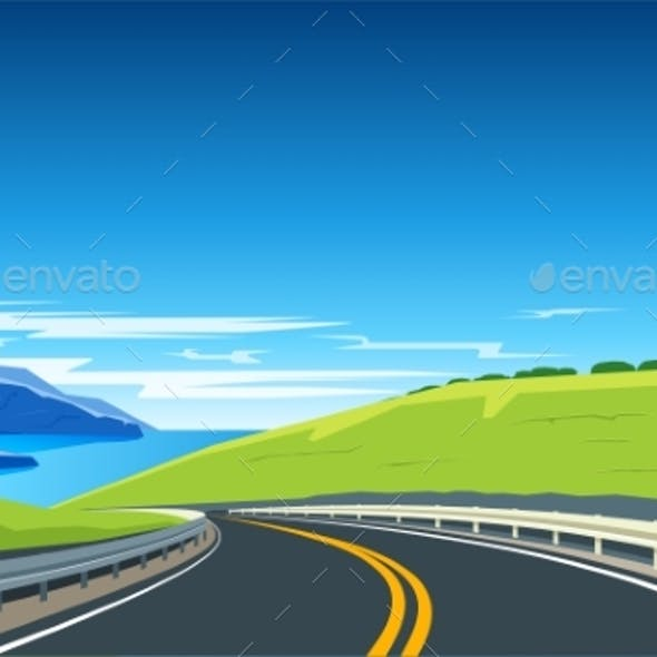 Turning Highway Banner