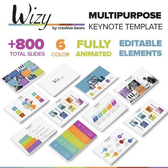 Wizy - MultiPurpose Keynote Template