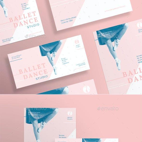 Ballet Dance Studio Flyers