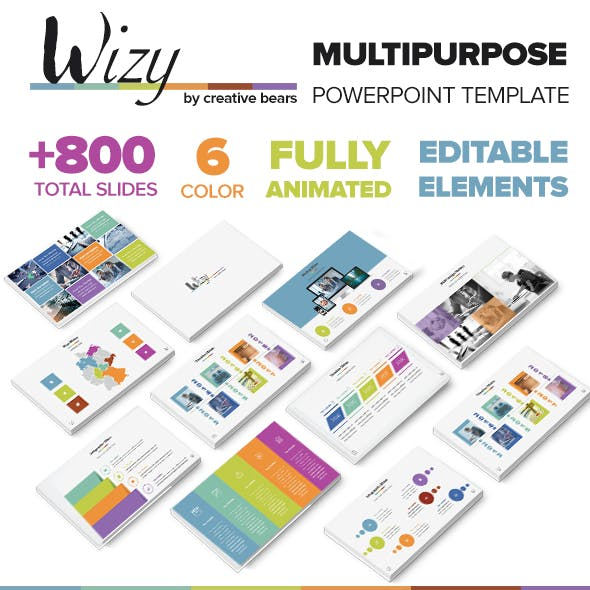 Wizy - MultiPurpose PowerPoint Template