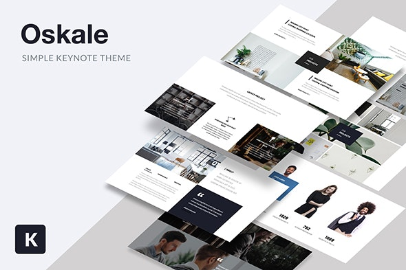Oskale - Keynote Template - Keynote Templates Presentation Templates
