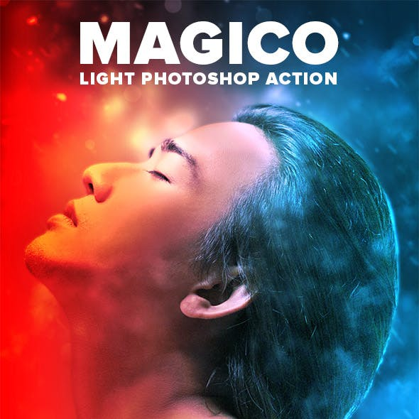 Magico Light Photoshop Action