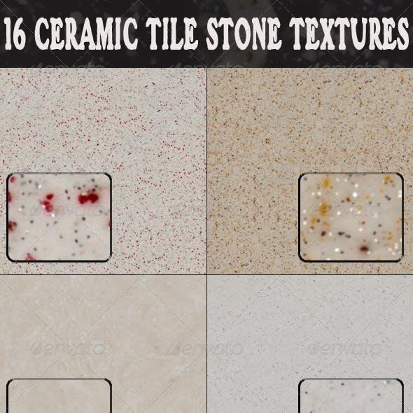 16 Ceramic Tile Stone Textures