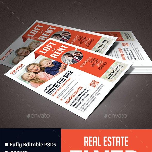 Real Estate & Rental Flyer