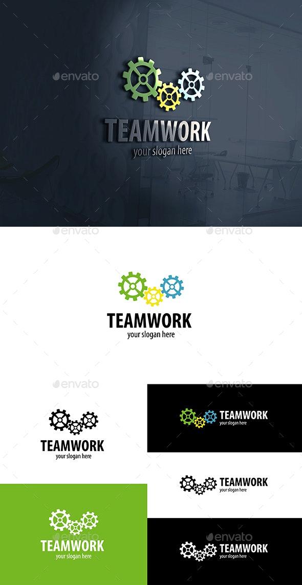 Gear Works Logo.Teamwork