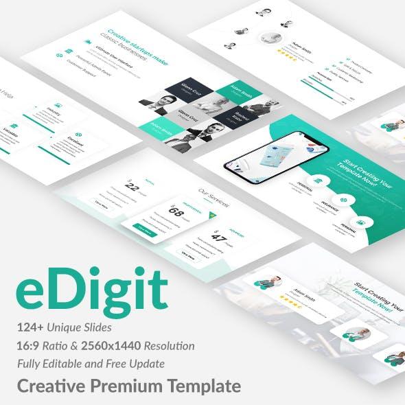 eDigit Proposal Creative Google Slide Template